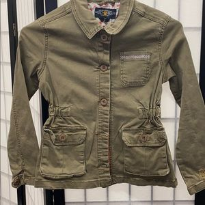 Girls cotton jacket